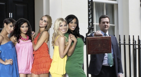 The Saturdays and George Osborne