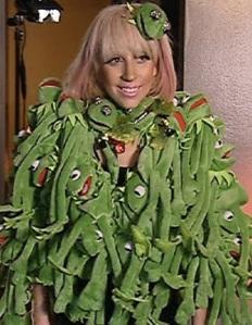 Lady Gaga Kermit