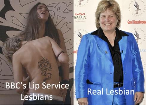 Lesbians BBC Lip Service