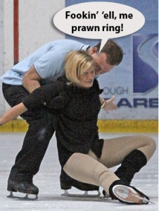 Kerry Katona Dancing on Ice
