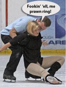 Kerry Katona Dancing on Ice