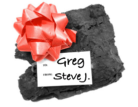 Lump of Coal Cole iTunes 12 Days of Christmas 2010