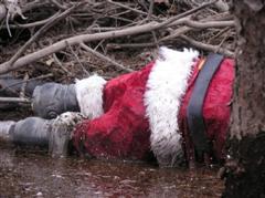 Mariah Carey Santa Claus Seleb Spy 2010
