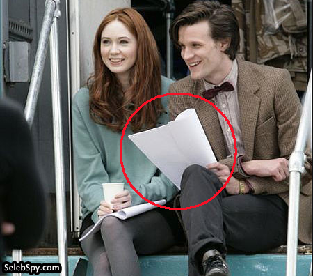Doctor Who, BBC, Seleb Spy, Matt Smith, Karen Gillan, SelebSpy.com