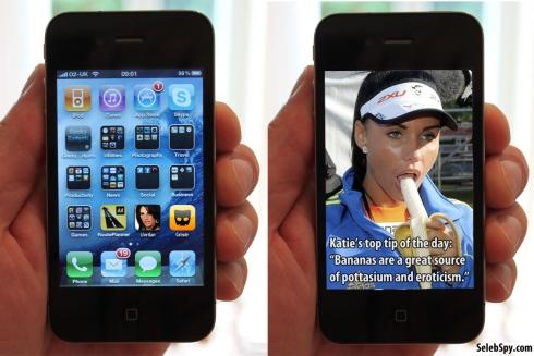 Katie Price, Jordan, iPhone, Ipad, Apple, Seleb Spy, SelebSpy.com, 2011