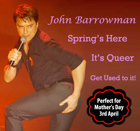 John Barrowman, Mother's Day, Seleb Spy 2011, SelebSpy.com